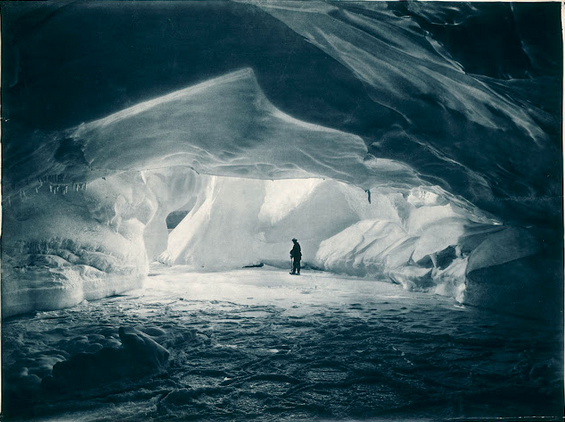 Frank Hurley Ice Cave