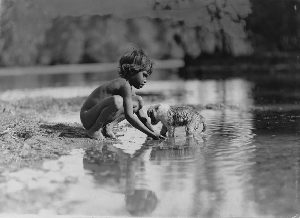 Frank Hurley in India