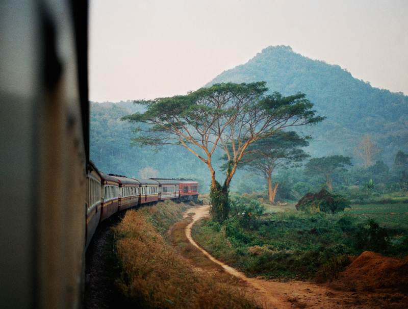 Hollie Fernando Train Thailand