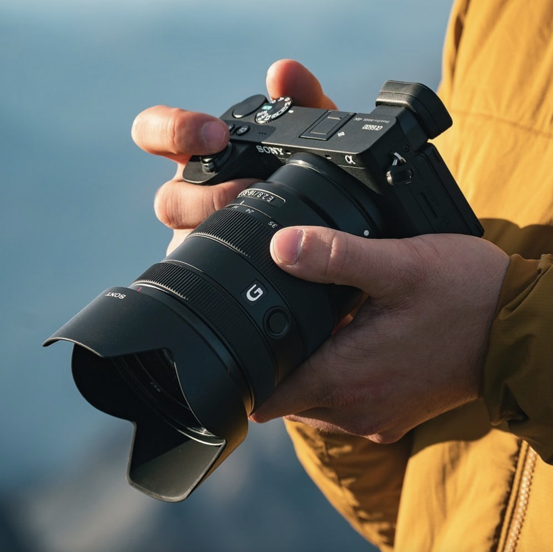 Sony A6500, photographed by Scott Kranz